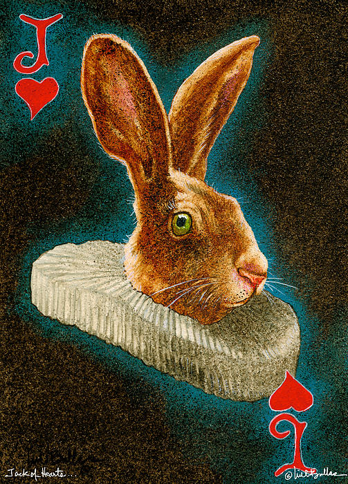 Jack Of Hearts... Painting