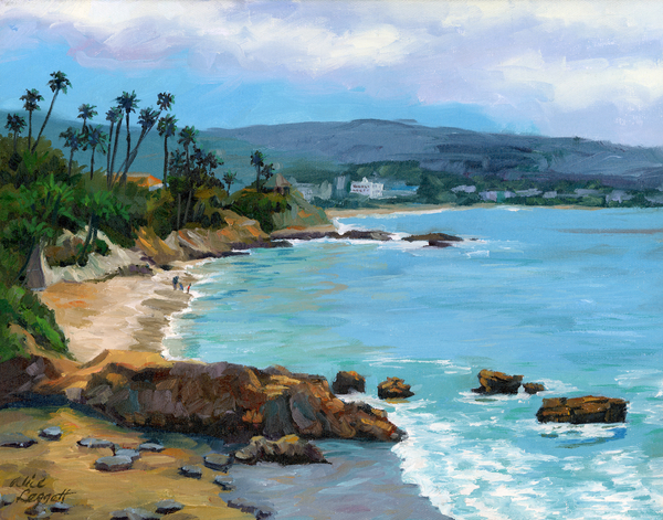 Alice Leggett - Laguna Beach Winter