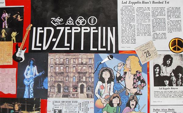 Led Zeppelin Past Times Photograph