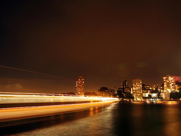 Light Photograph - Light Across The Bay by Justin Woodhouse