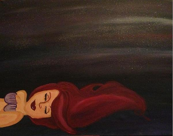 Disney Painting - Little Mermaid by Oasis Tone