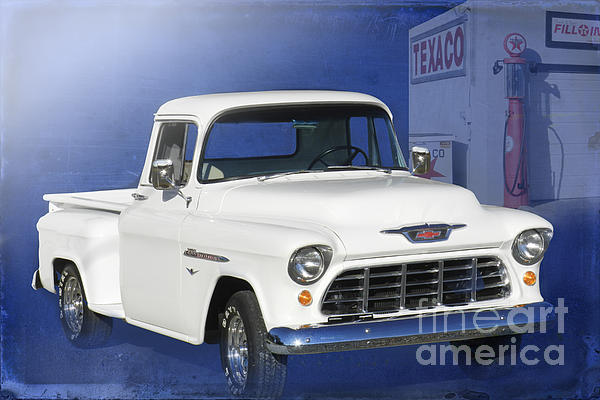 1955 Chevrolet Pickup Photograph - Lost In The 50s by Betty LaRue