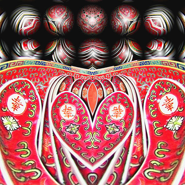 wendy J. St. Christopher Digital Art - Love Means Keeping It All Together by Wendy J St Christopher