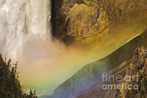 Sandra Bronstein - Lower Falls Rainbow - Yellowstone