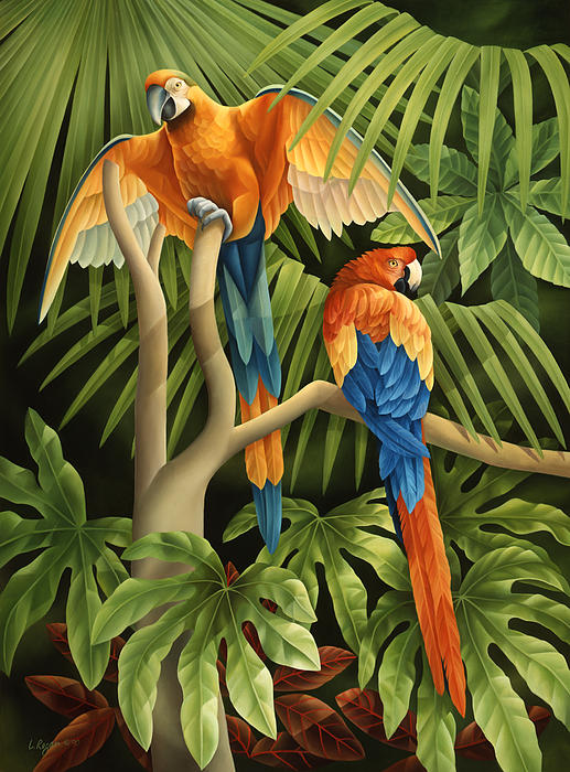 Tropical Rainforest Paintings for Sale: fineartamerica.com/art/paintings/tropical+rainforest/all