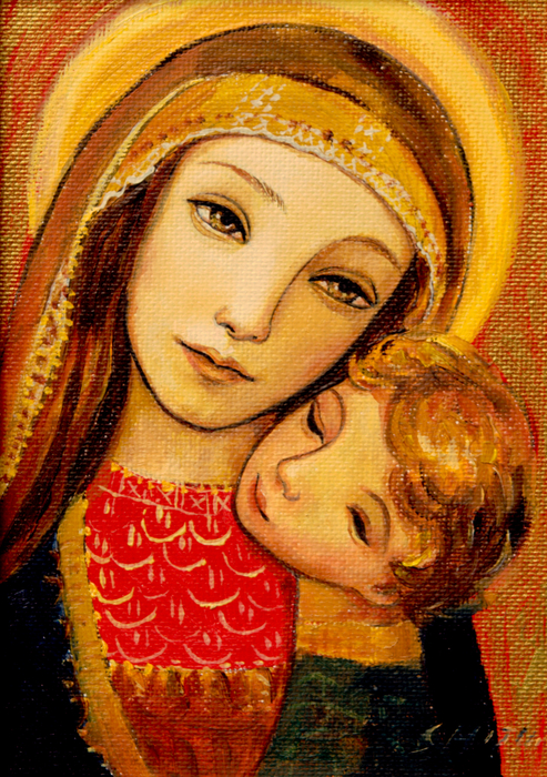 Shijun Munns - Madonna and Child