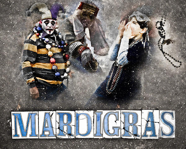 Mardi Gras Artwork Photograph  - Mardi Gras Artwork Fine Art Print