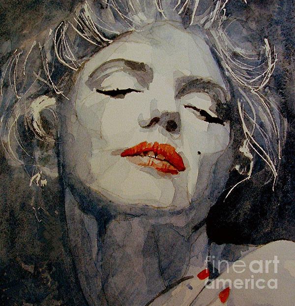Marilyn No8 Painting  - Marilyn No8 Fine Art Print