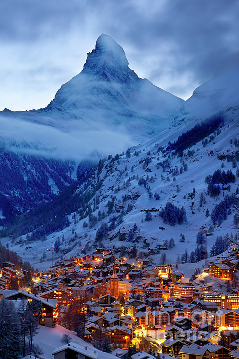 Brian Jannsen - Matterhorn at Twilight