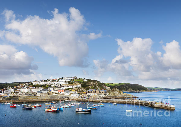 Boats Photograph - Mevagissey Cornwall England by Colin and Linda McKie