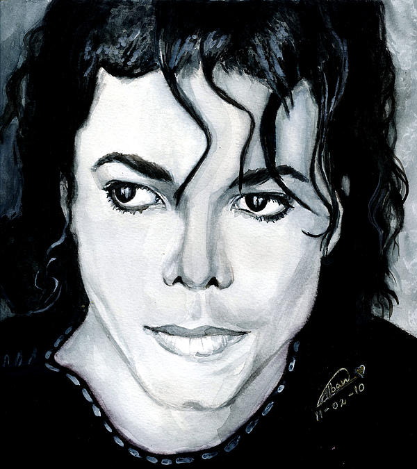 Michael Jackson Portrait Painting