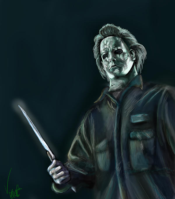 Michael Myers Drawing  - Michael Myers Fine Art Print