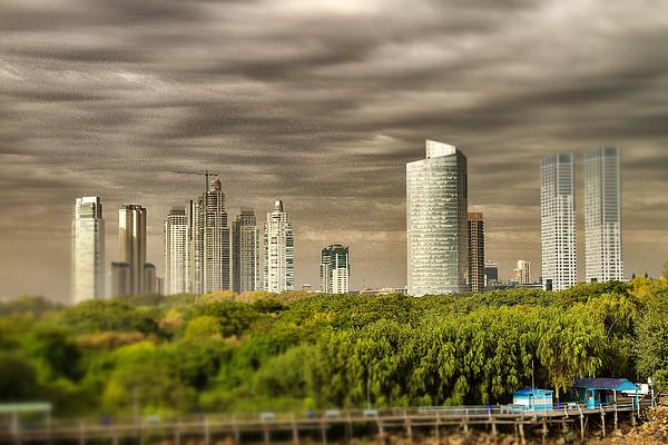 Buenos Aires Photograph - Modern Buenos Aires Tilt Shift by For Ninety One Days