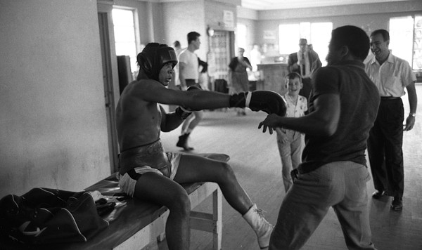 Marvin Newman Photograph - Muhammad Ali Playing Around by Retro Images Archive