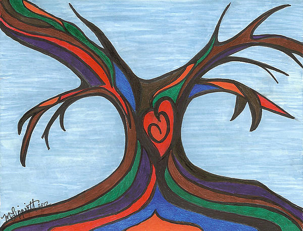 Minnie Lippiatt - Multi-Color Tree