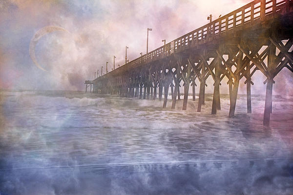 Topsail Photograph - Mystical Morning by Betsy Knapp