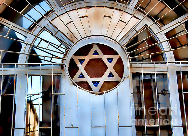 Synagogue Photograph - Nachlaot Synagogue by Elena Comens