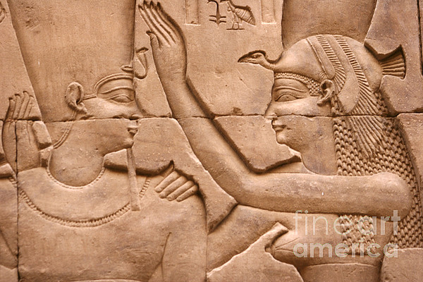 Relief Photograph - Nekhbet by Stephen & Donna OMeara