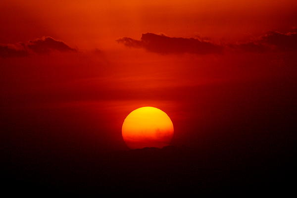 Dawn J Benko - Ngorongoro Sunset