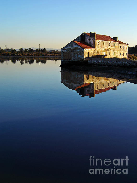 Tide Mill Photograph - Old Tide Mill by Jose Elias - Sofia Pereira