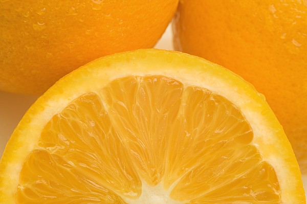 Close Photograph - Oranges by Darren Greenwood