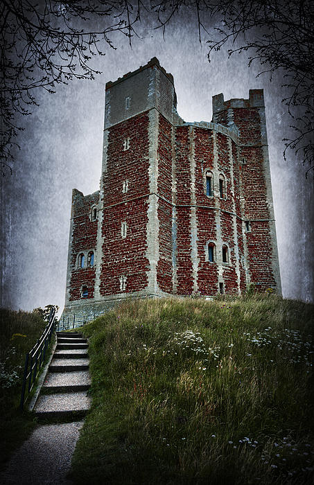 Abbey Photograph - Orford Castle by Svetlana Sewell
