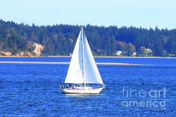 Tap On Photo - Pacific Star Sailboat on Puget Sound