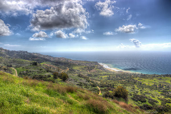 Bay Photograph - Palos Verdes Peninsula Hdr by Heidi Smith