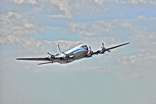 Dc6 Photograph - Pan American Clipper by William Wetmore