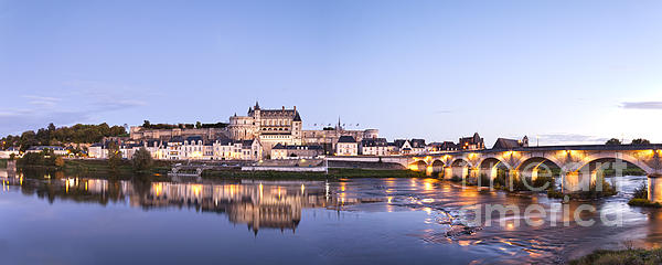 Amboise Photograph - Panorama Of Amboise Loire Valley France by Colin and Linda McKie