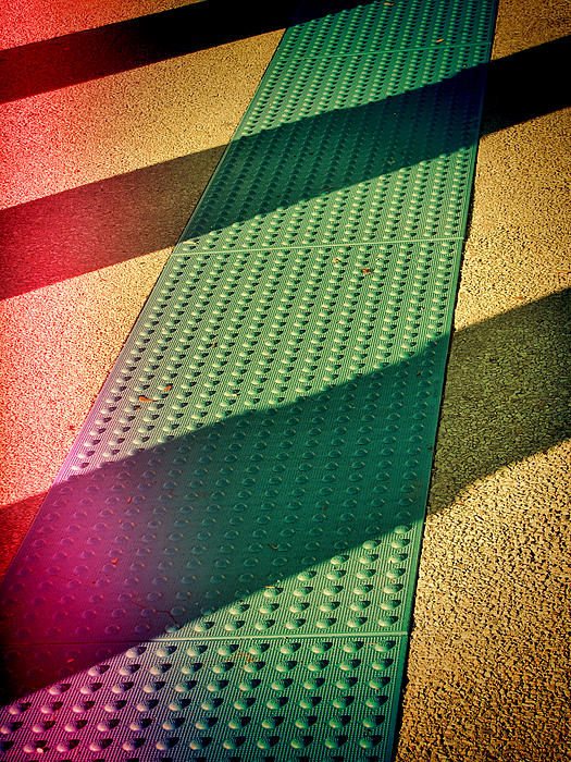 Urban Photograph - Path Of Shadows by Wendy J St Christopher
