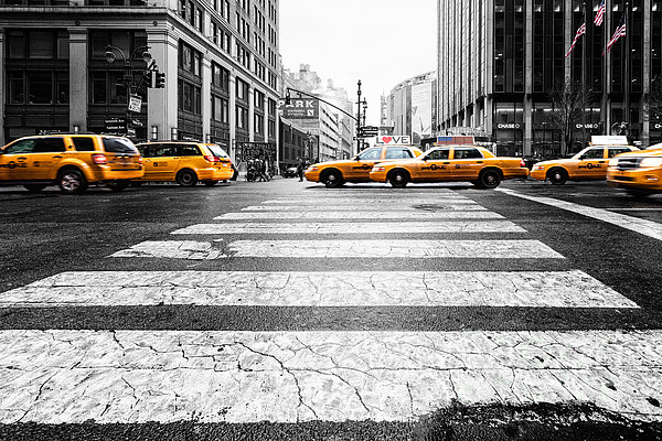 Penn Station Yellow Taxi Photograph  - Penn Station Yellow Taxi Fine Art Print