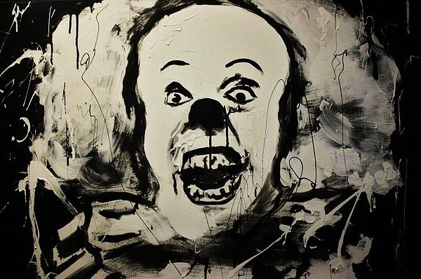 Pennywise The Clown Painting  - Pennywise The Clown Fine Art Print