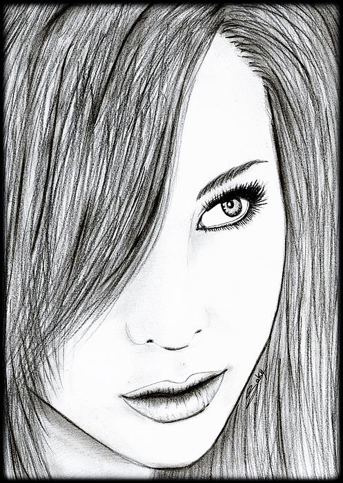 Perfect Painting - Perfect Beauty by Saki Art