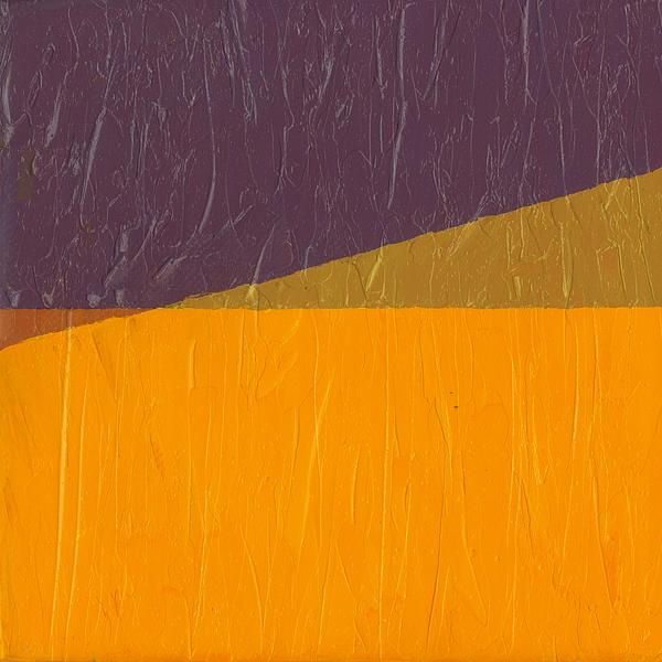 Abstract Painting - Perspective In Color Collage 11 by Michelle Calkins