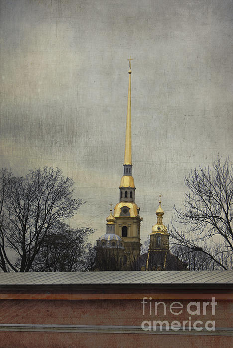 Peter And Paul Fortress Photograph - Peter And Paul Fortress by Elena Nosyreva