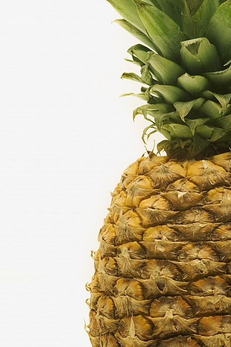Close-up Photograph - Pineapple by Darren Greenwood