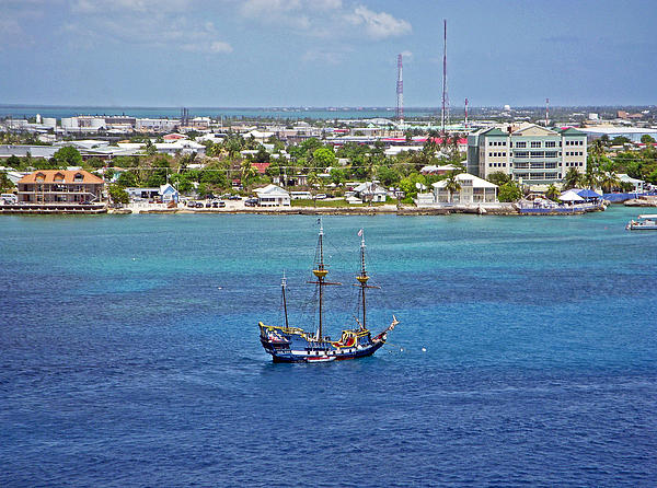 Pirate Ship In Cozumel Photograph