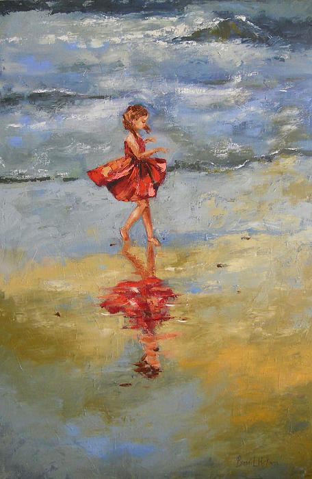 Playful Reflections Painting