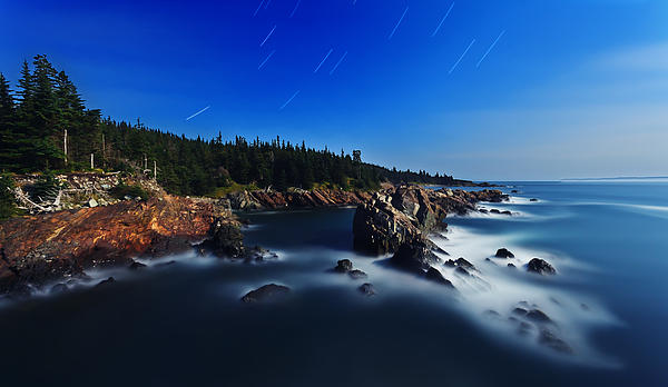 ABeautifulSky  Photography - Quoddy Coast by Moonlight