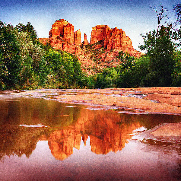 Red Rock State Park - Cathedral Rock Photograph  - Red Rock State Park - Cathedral Rock Fine Art Print