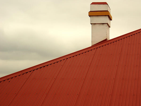 Red Photograph - Red Roof by Kaleidoscopik Photography