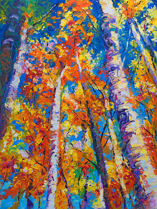 Talya Johnson - Redemption - fall birch and aspen