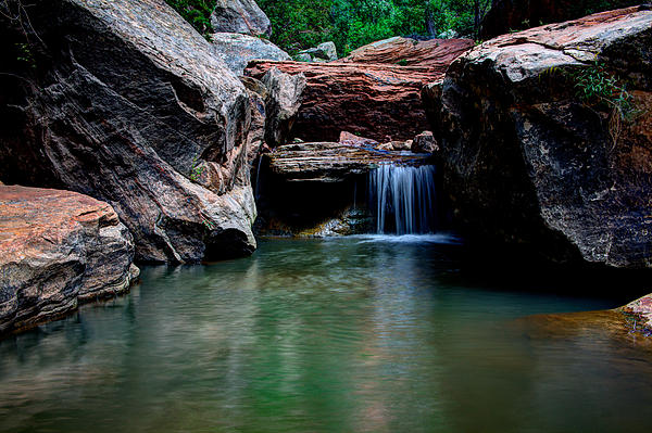 Water Photograph - Remote Falls by Chad Dutson