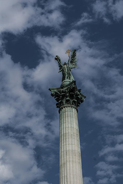 Pictures Of Budapest Hungary Photograph - Rising by Sabina Cosic