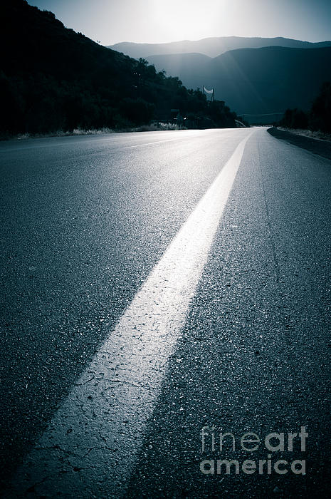 Road Photograph - Road by Boon Mee
