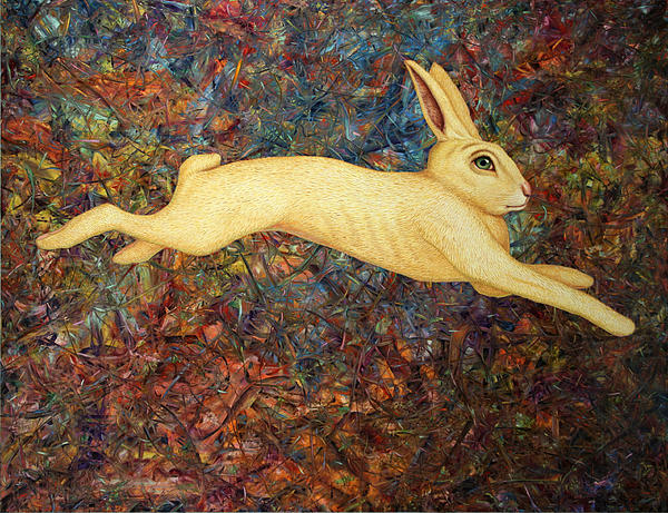 James W Johnson - Running Rabbit