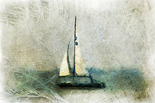 Sally Starr Mixed Media - Sailin With Sally Starr by Trish Tritz