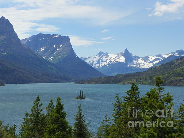 Photography Moments - Sandi - Saint Mary Lake - Glacier National Park