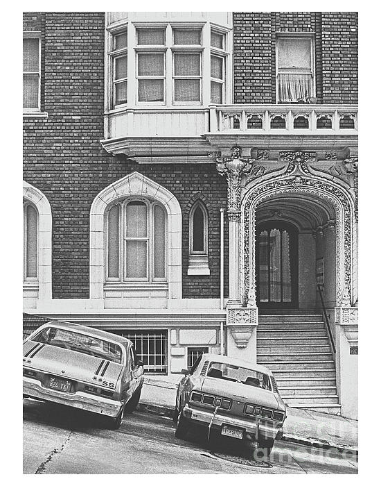 ImagesAsArt Photos And Graphics - San Francisco 1981 Cars On A Slant